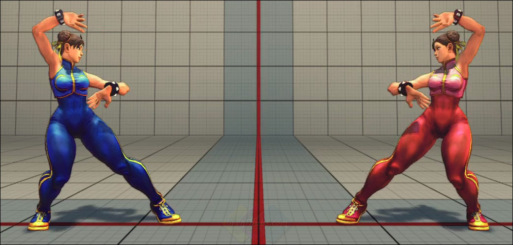 Super Street Fighter 4 Costumes Chun Li Viper Rose Sakura Cammy