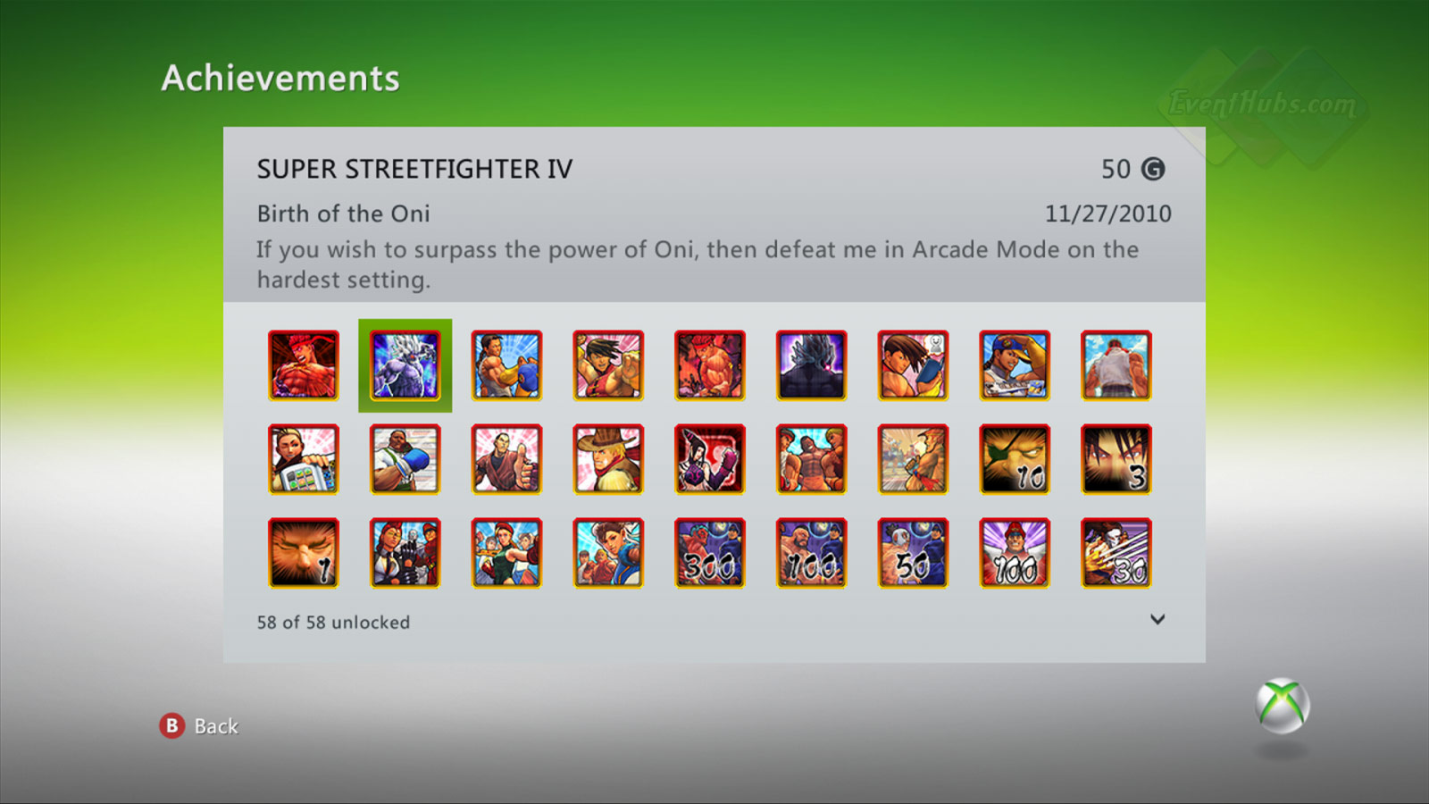 New achievements for Super Street Fighter 4 on the Xbox 360 image #2