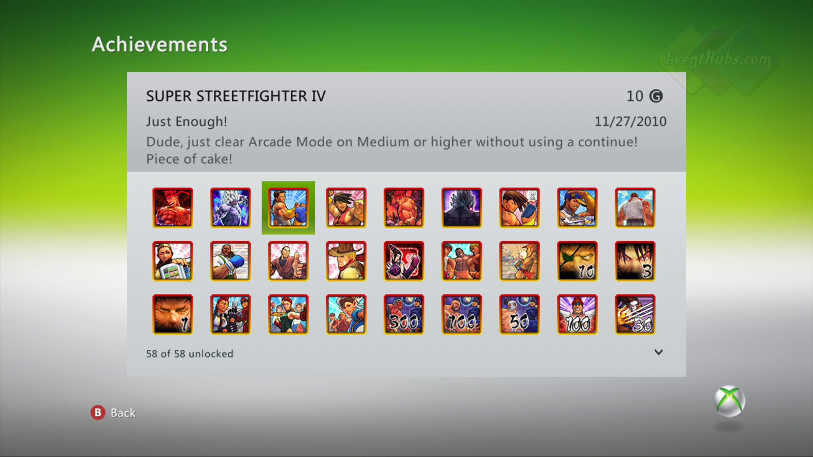 New achievements for Super Street Fighter 4 on the Xbox 360 image #3