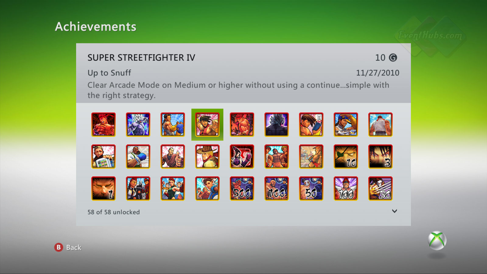 New achievements for Super Street Fighter 4 on the Xbox 360 image #4