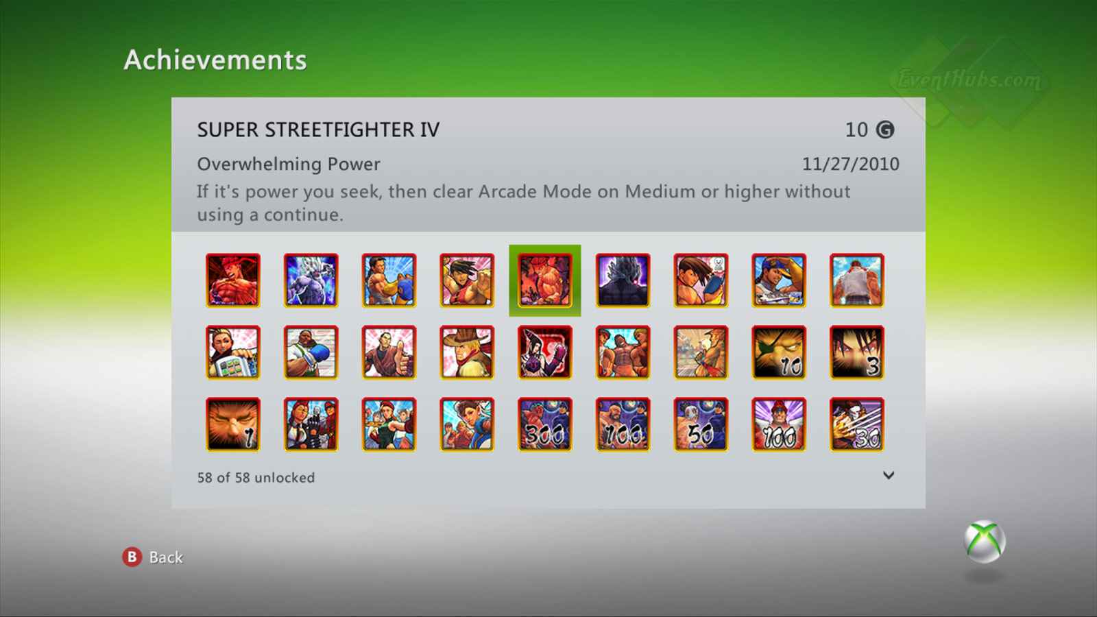 New achievements for Super Street Fighter 4 on the Xbox 360 image #5
