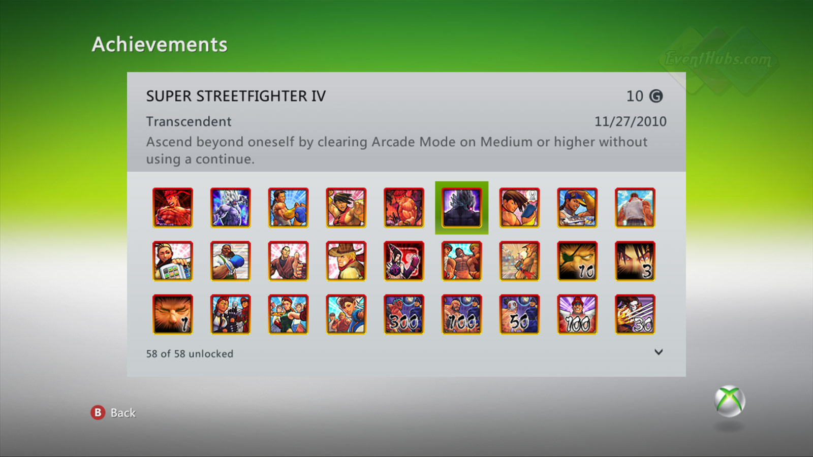 New achievements for Super Street Fighter 4 on the Xbox 360 image #6