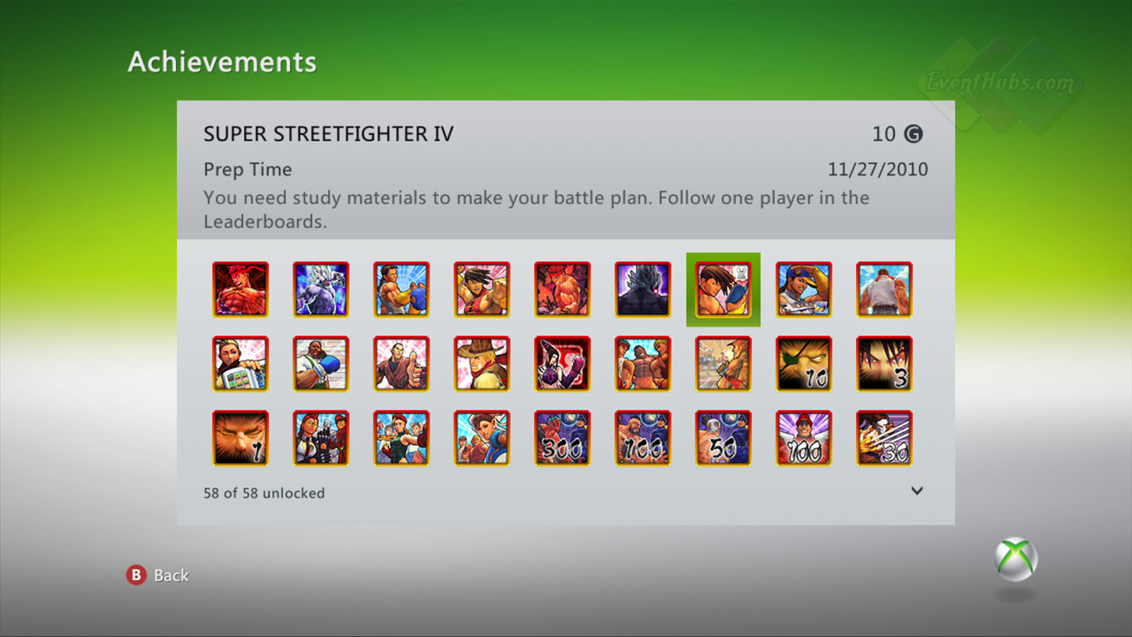 New achievements for Super Street Fighter 4 on the Xbox 360 image #7