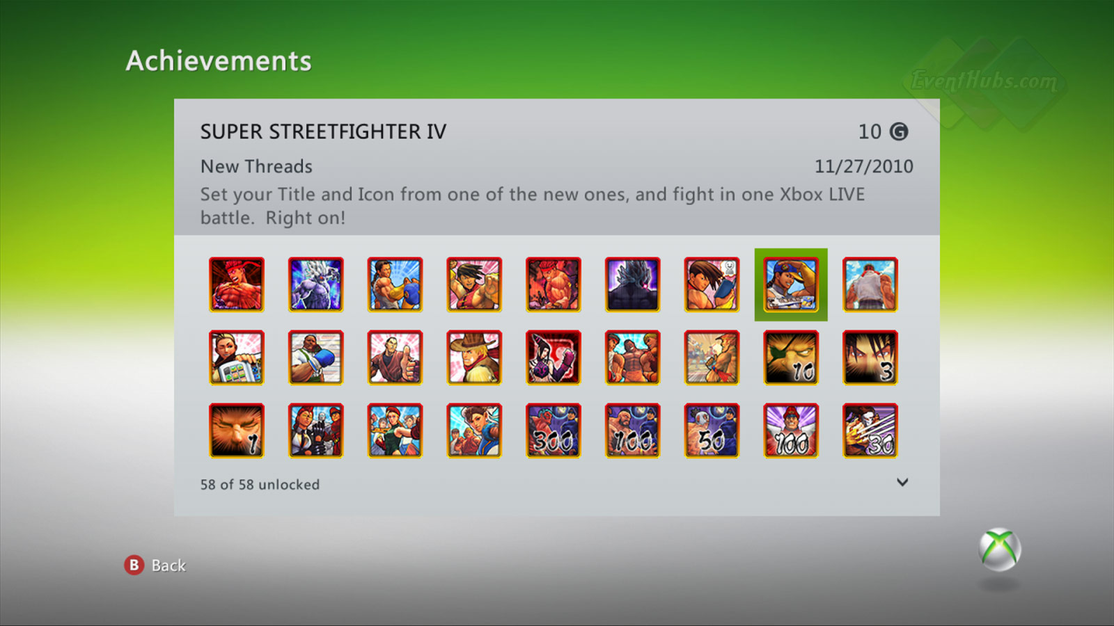 New achievements for Super Street Fighter 4 on the Xbox 360 image #8