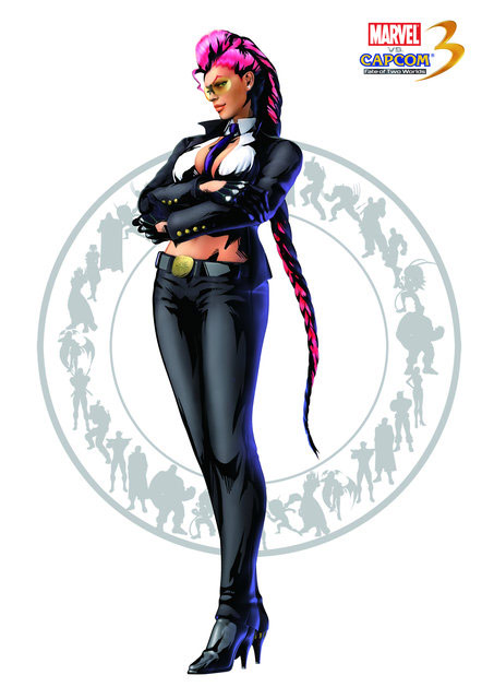 C. Viper artwork for Marvel vs. Capcom 3