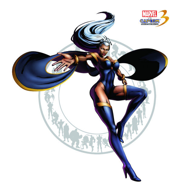 Storm artwork for Marvel vs. Capcom 3