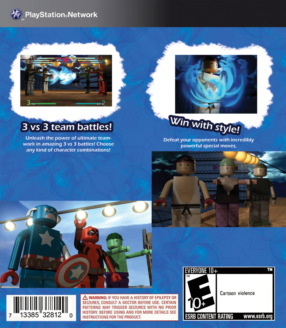 Lego Marvel vs. Capcom 3 image #8