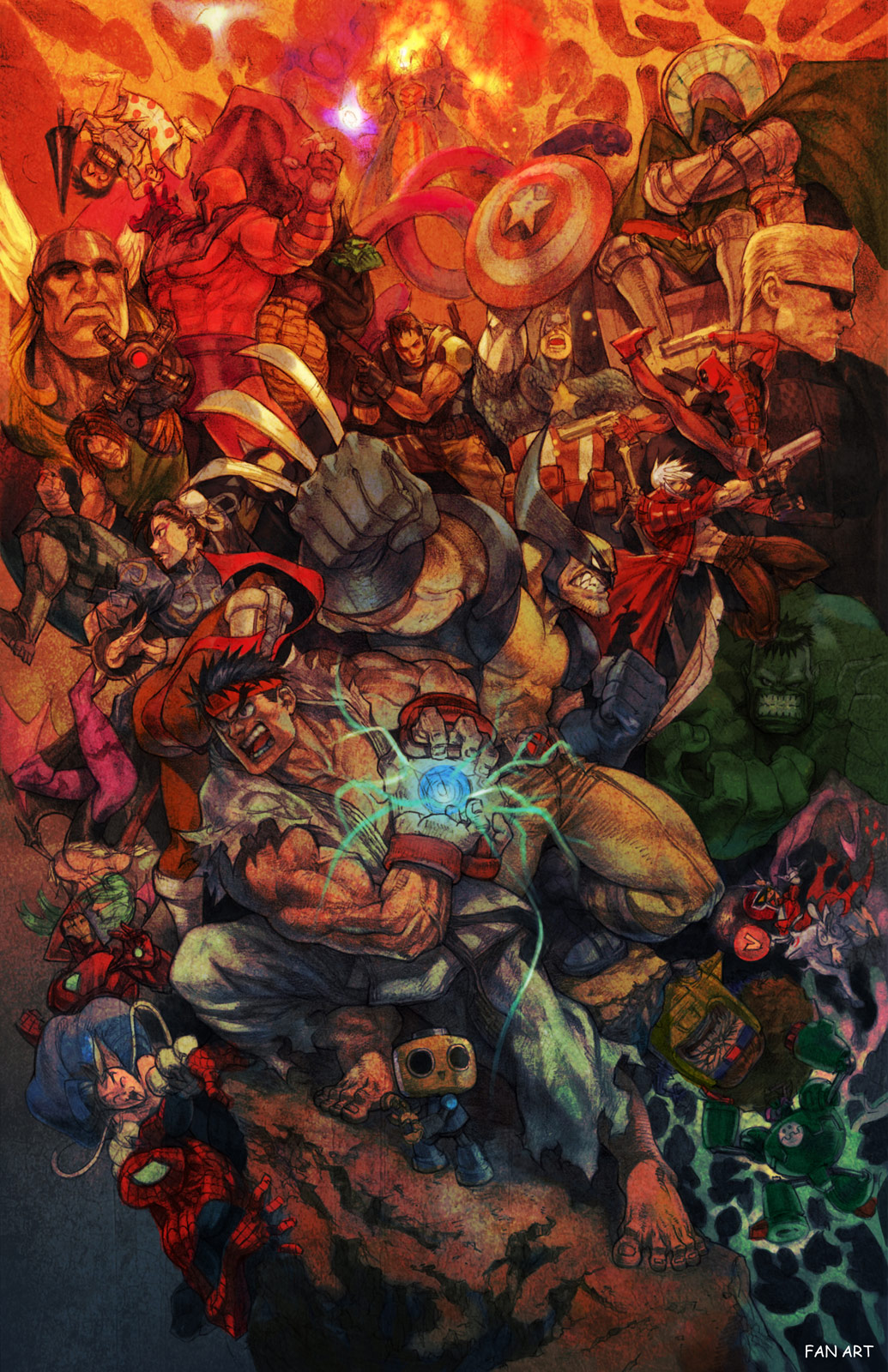 Marvel vs. Capcom 3 fan art contest winner #2