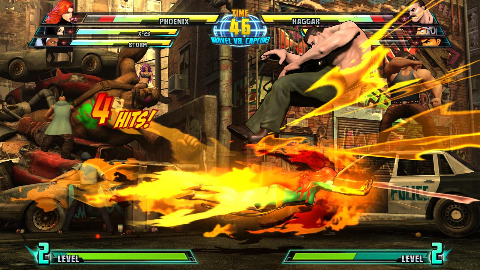 Phoenix and Haggar screen shots for Marvel vs. Capcom 3 #12