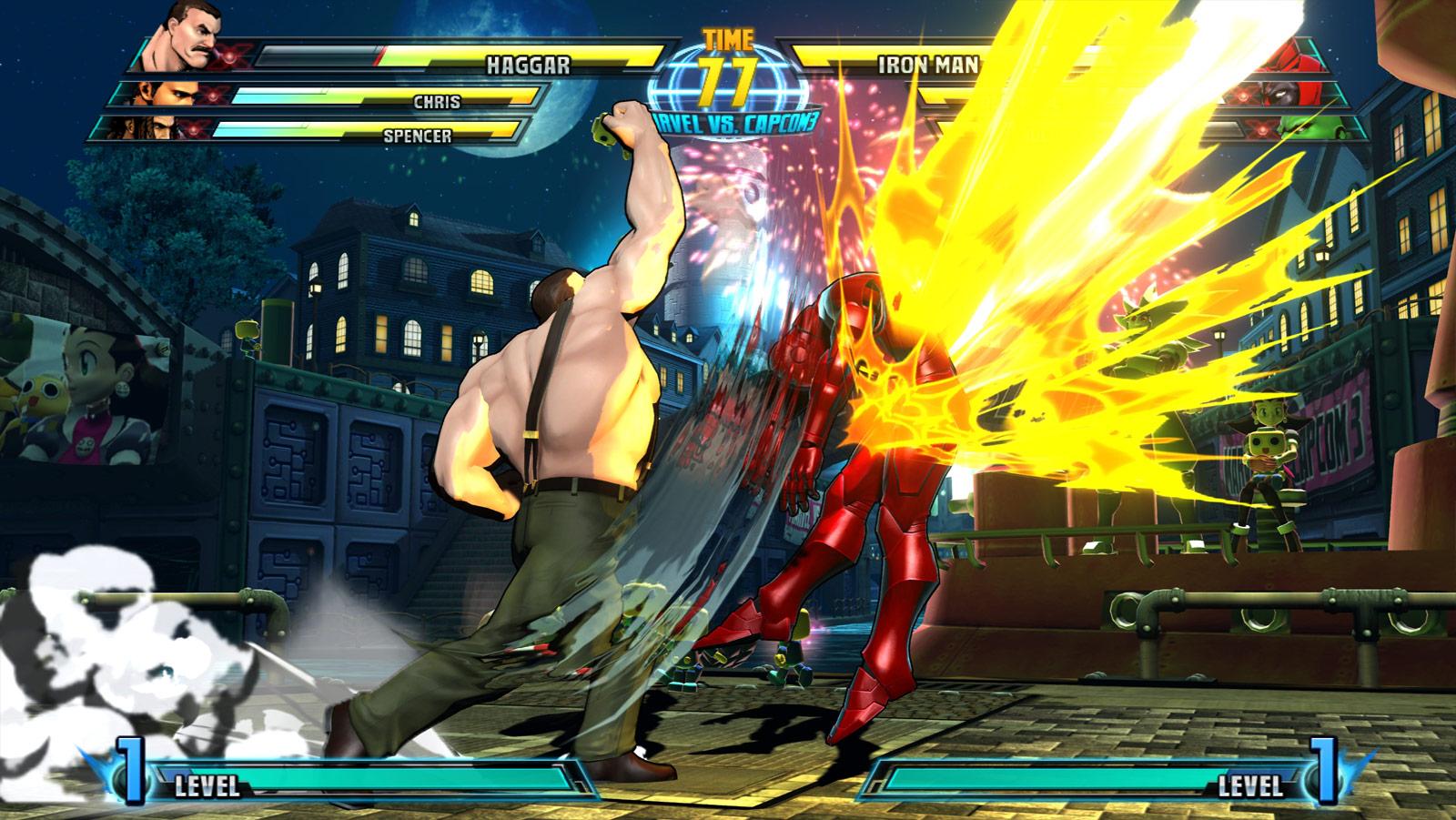 Phoenix and Haggar screen shots for Marvel vs. Capcom 3 #13
