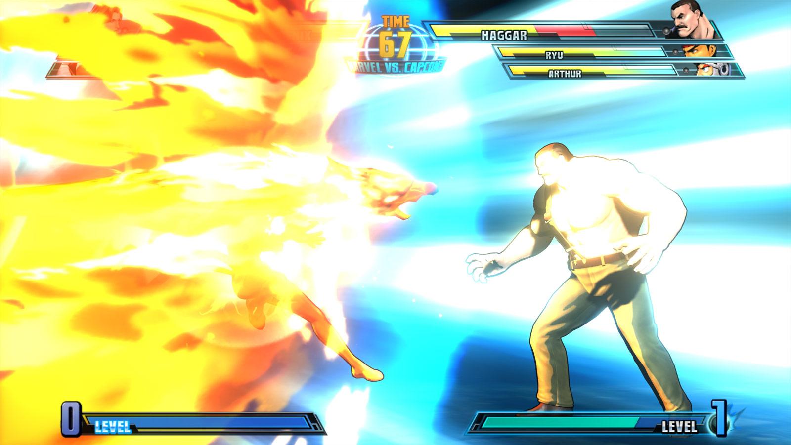 Phoenix and Haggar screen shots for Marvel vs. Capcom 3 #14