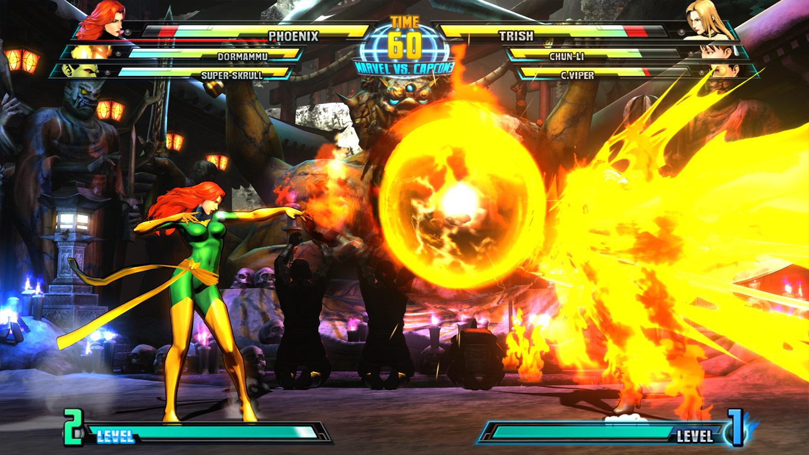 Phoenix and Haggar screen shots for Marvel vs. Capcom 3 #18