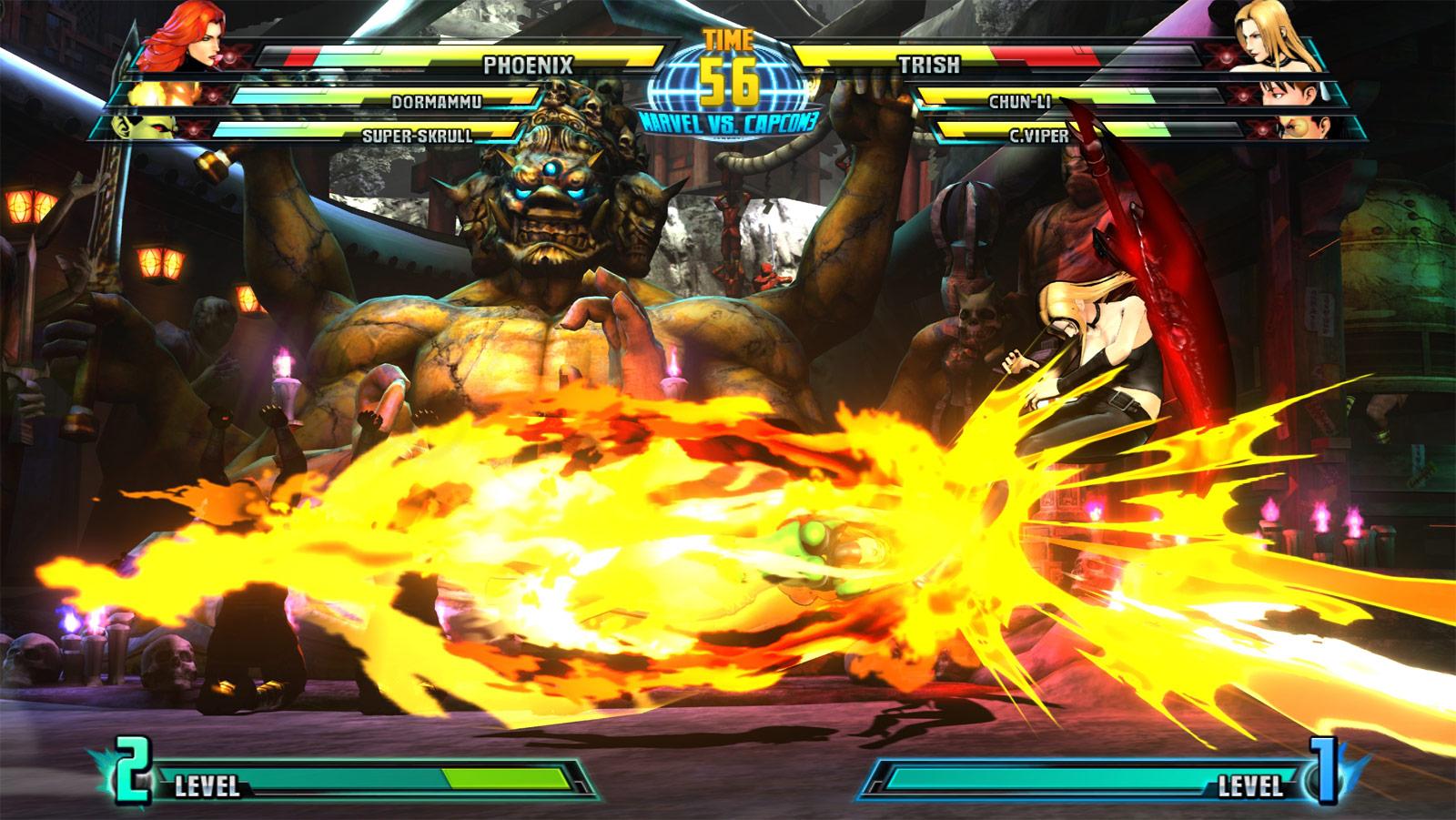 Phoenix and Haggar screen shots for Marvel vs. Capcom 3 #20