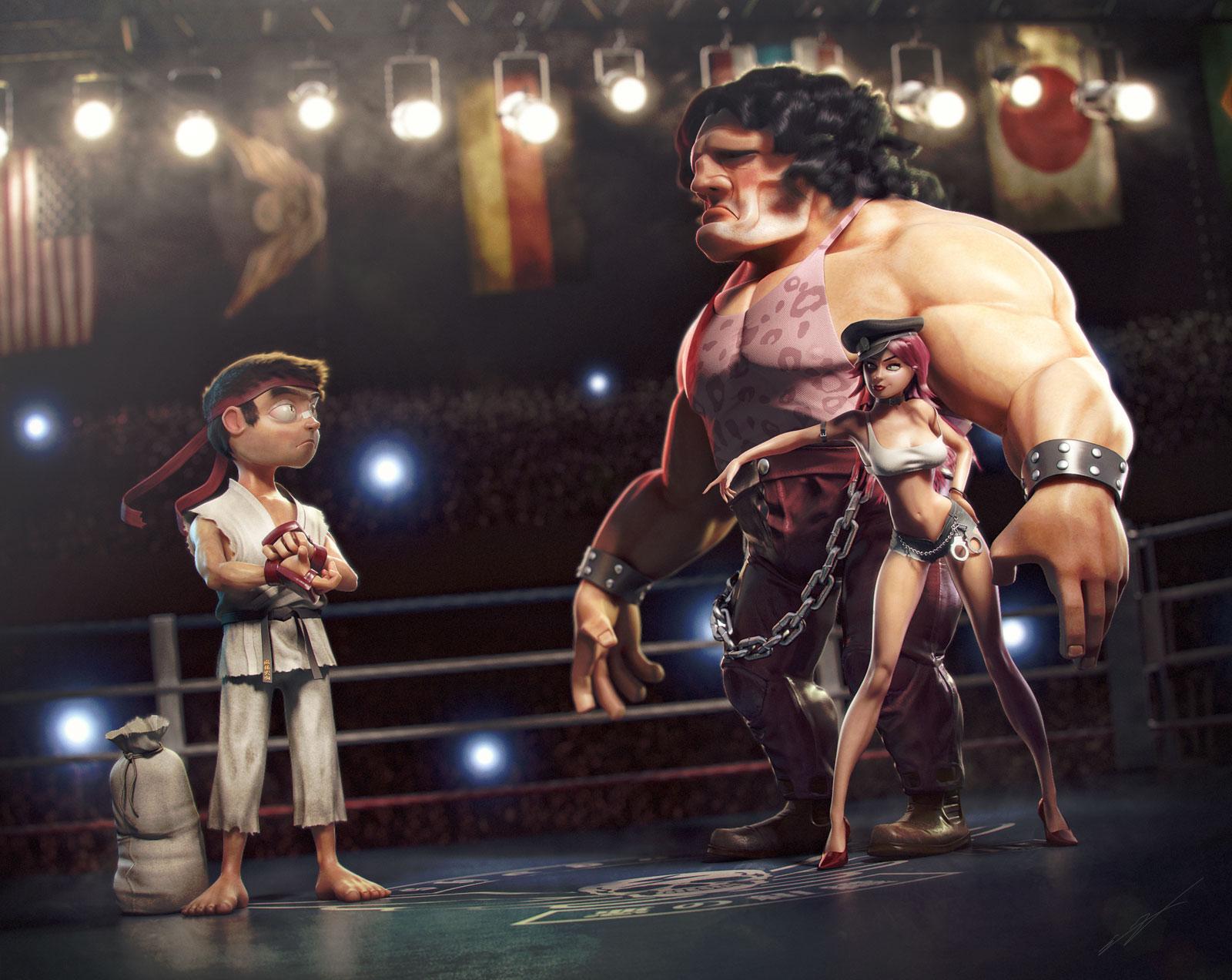 Street Fighter 3 Third Strike fan art, image #1