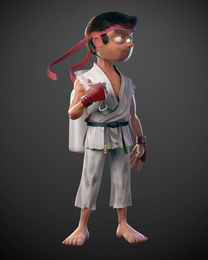 Street Fighter 3 Third Strike fan art, image #2