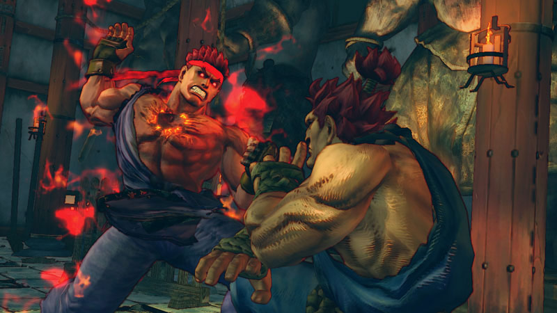 Evil Ryu In Super Street Fighter 4 Arcade Edition Image 6