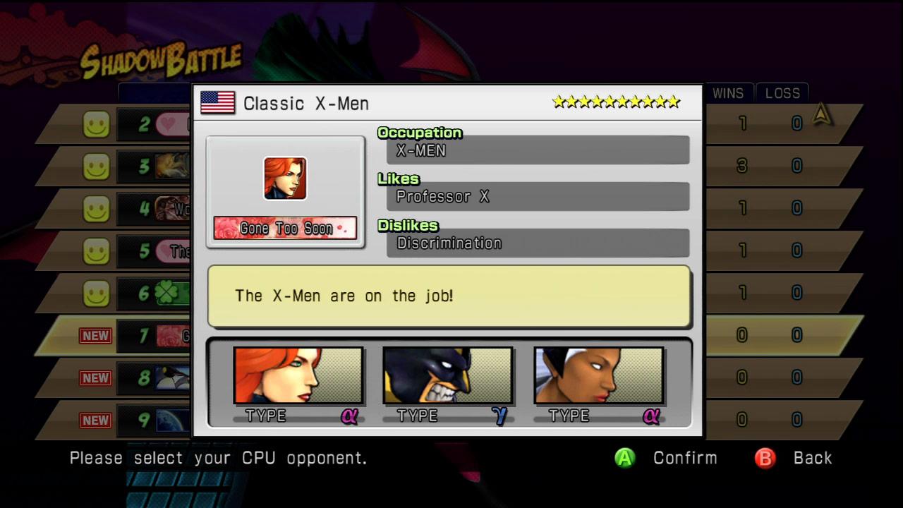Shadow Mode DLC pack 03 Marvel vs. Capcom 3 image #2