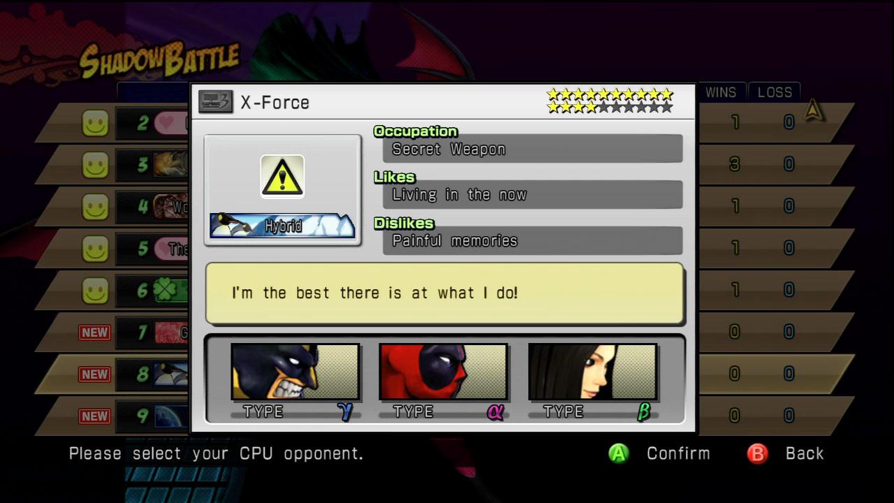 Shadow Mode DLC pack 03 Marvel vs. Capcom 3 image #3