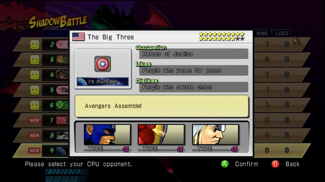 Shadow Mode DLC pack 03 Marvel vs. Capcom 3 image #4