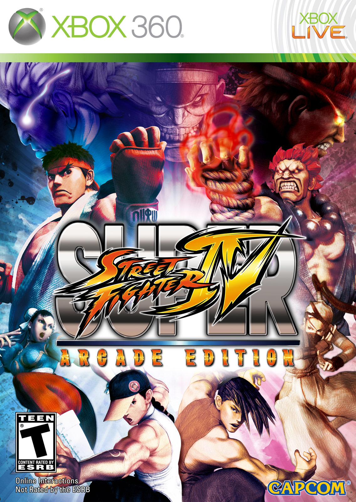 Super Street Fighter 4 Arcade Edition image #1