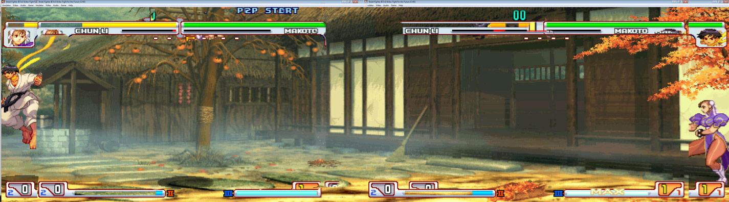 Makoto Street Fighter 3 stage reimagined image #1