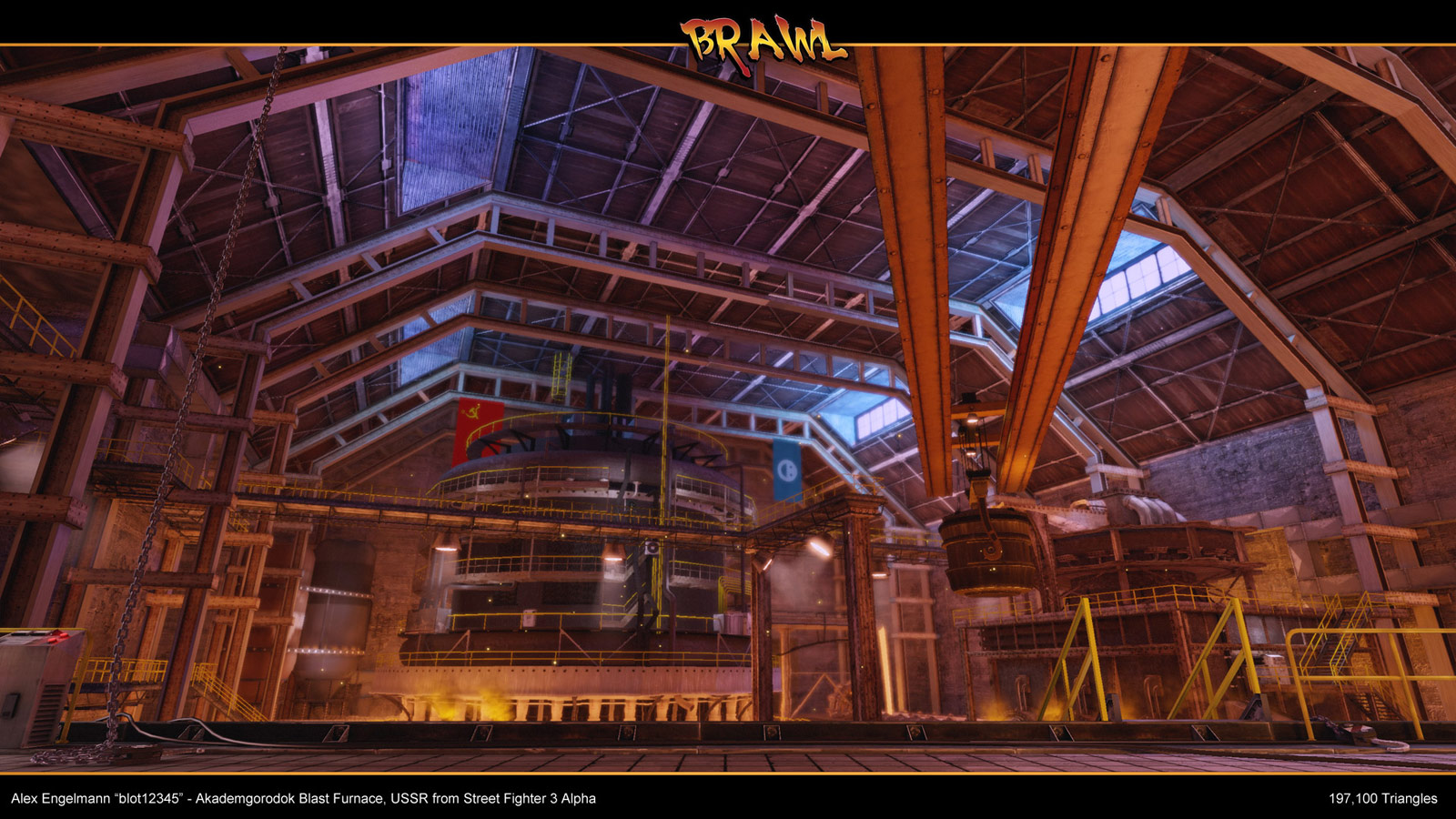 Zangief Street Fighter Alpha 3 stage reimagined image #2