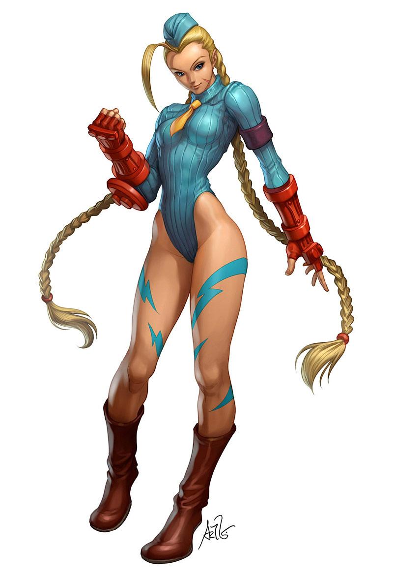 Artwork of Stan Lau, Street Fighter image #4