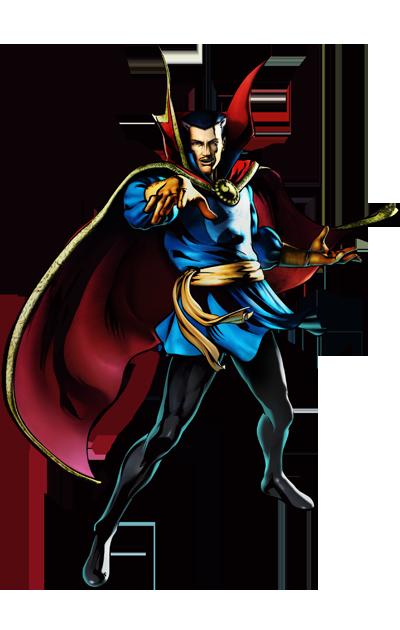 Dr. Strange's artwork for Ultimate Marvel vs. Capcom 3