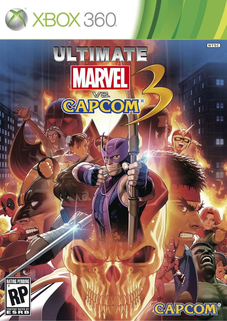 Ultimate Marvel vs. Capcom 3 cover image #1