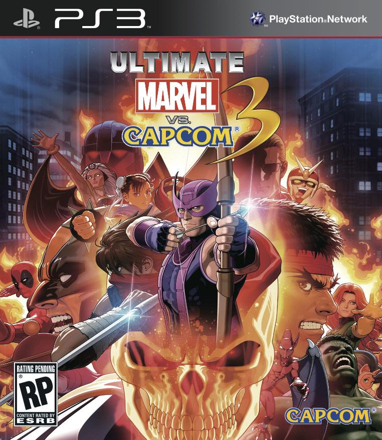 Kết quả hình ảnh cho Marvel.Vs.Capcom.3 cover ps3