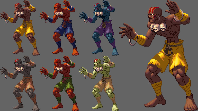 King of Fighters XII styled Street Fighter artwork #1