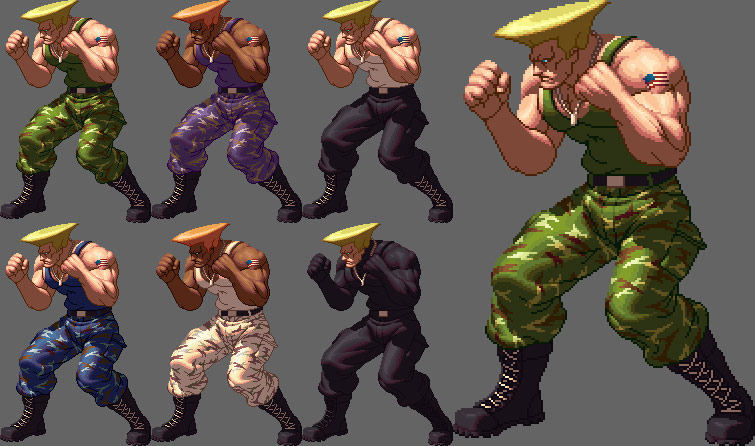 King of Fighters XII styled Street Fighter artwork #2