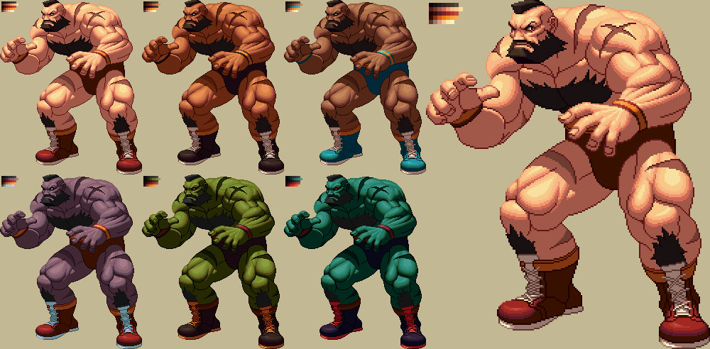 King of Fighters XII styled Street Fighter artwork #3