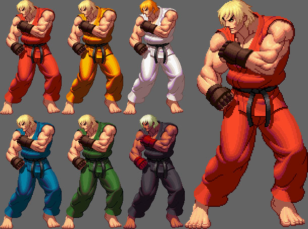 King of Fighters XII styled Street Fighter artwork #6