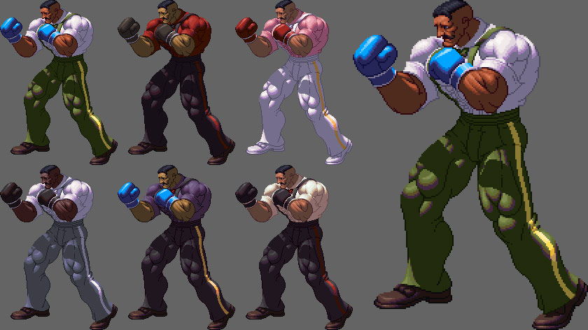 King of Fighters XII styled Street Fighter artwork #9