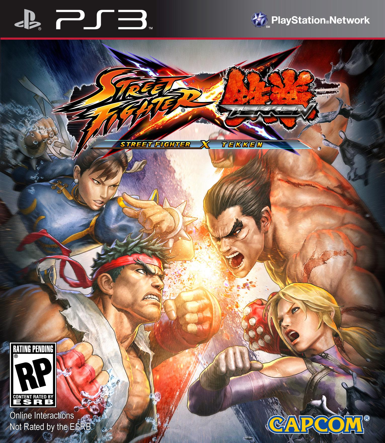 Cover artwork for Street Fighter X Tekken on the PlayStation 3