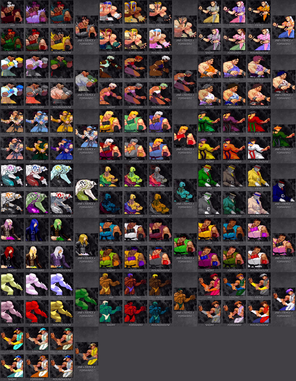 Street Fighter 3 Third Strike Online Edition DLC color pack