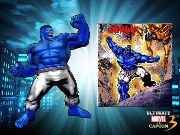 updated ultimate marvel vs capcom 3 alternate colors for hulk and