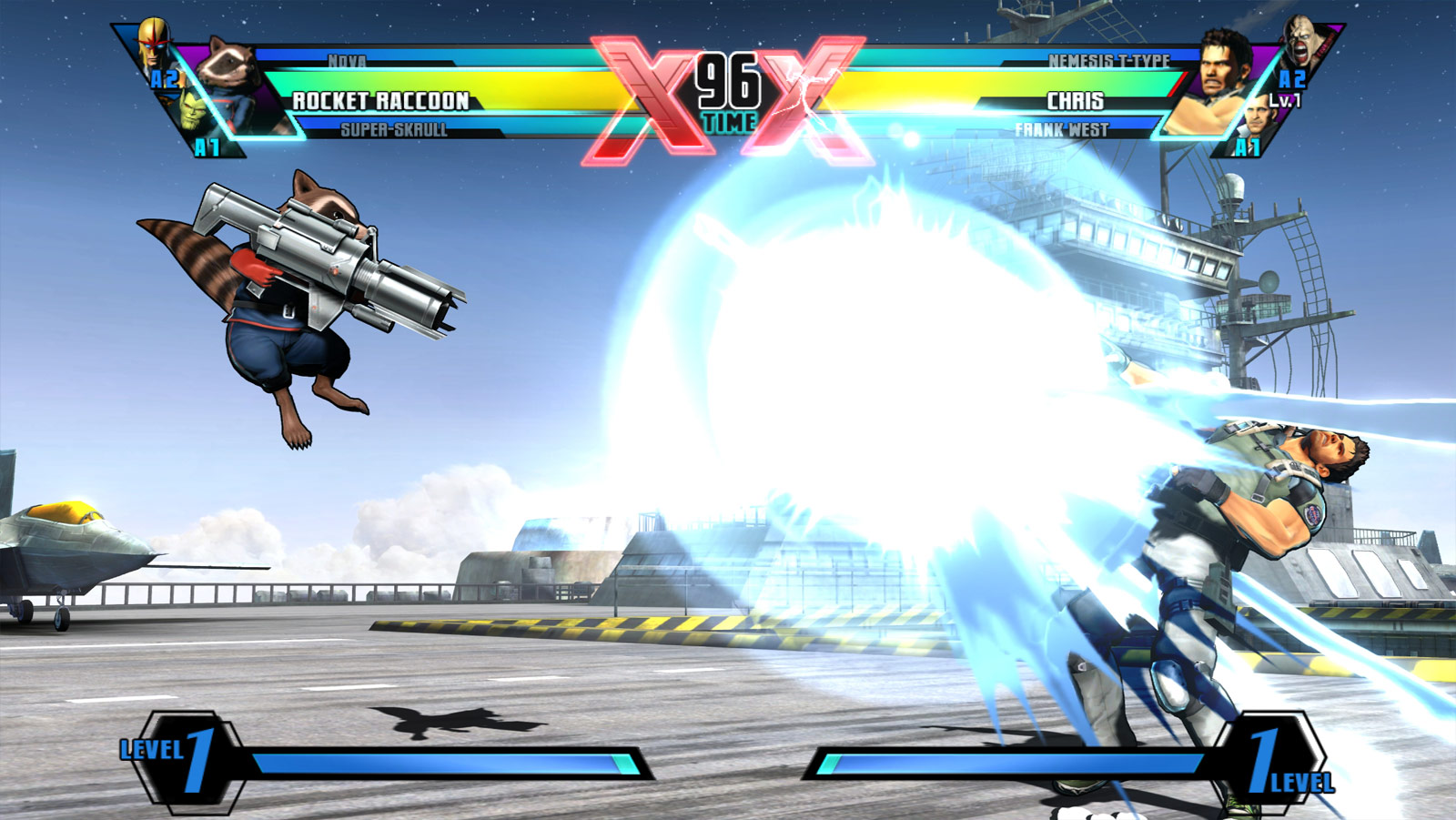 ... West and Rocket Raccoon in Ultimate Marvel vs. Capcom 3 image #13