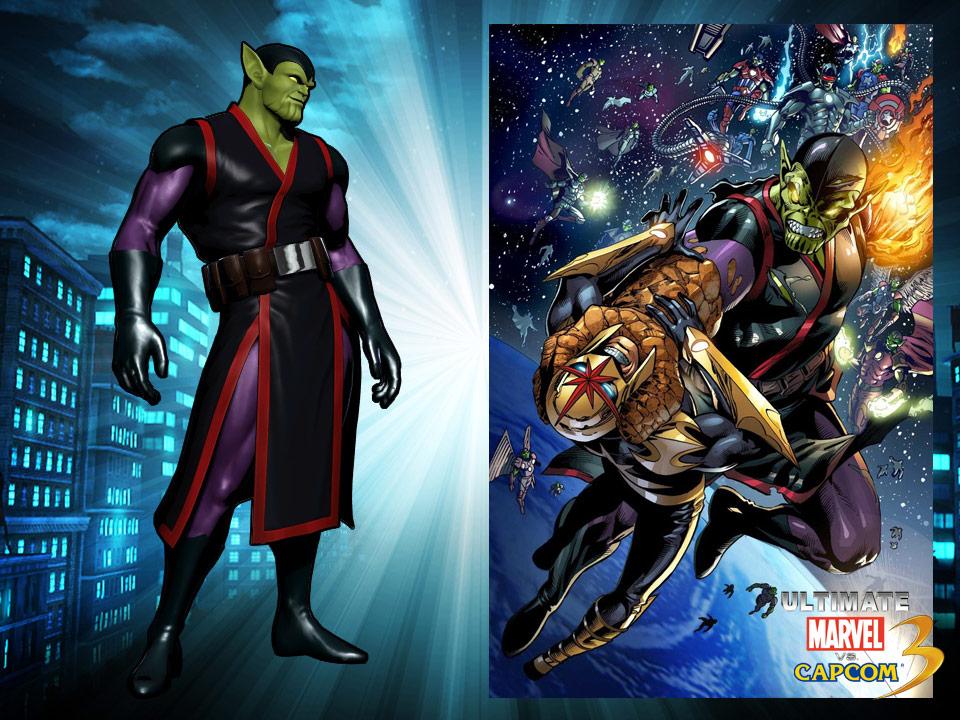 Ultimate Marvel vs. Capcom 3 alternate costumes #4
