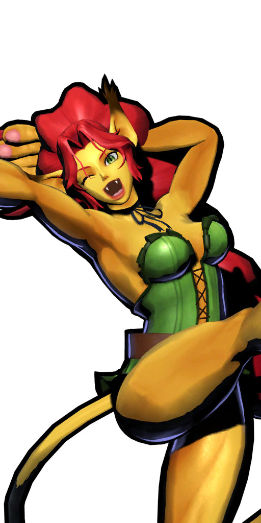 Ultimate Marvel vs. Capcom 3 character win poses in alternate costume #11