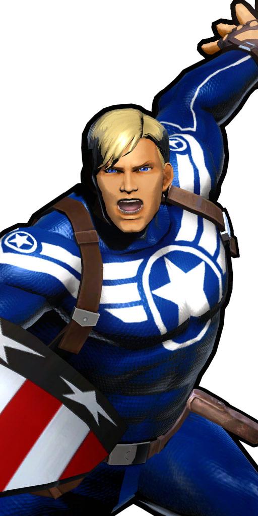 Ultimate Marvel vs. Capcom 3 character win poses in alternate costume #30