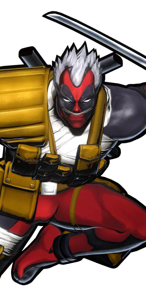 Ultimate Marvel vs. Capcom 3 character win poses in alternate costume #31