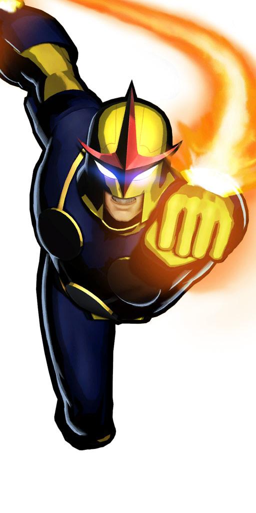 Ultimate Marvel vs. Capcom 3 character win poses in alternate costume #42