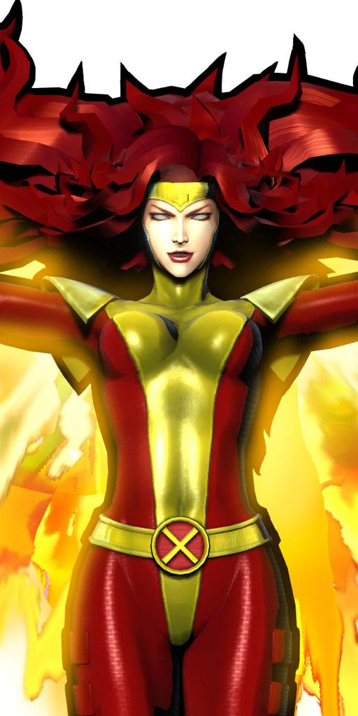 Ultimate Marvel vs. Capcom 3 character win poses in alternate costume #44