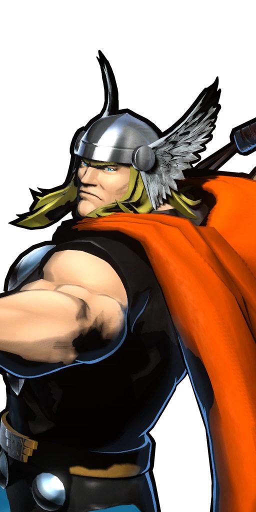 Ultimate Marvel vs. Capcom 3 character win poses in alternate costume #53