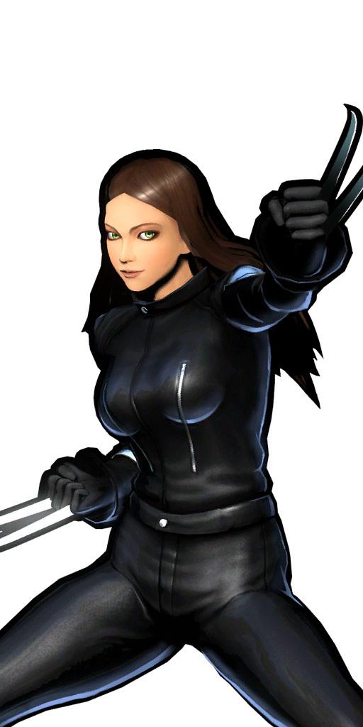 Ultimate Marvel vs. Capcom 3 character win poses in alternate costume #54
