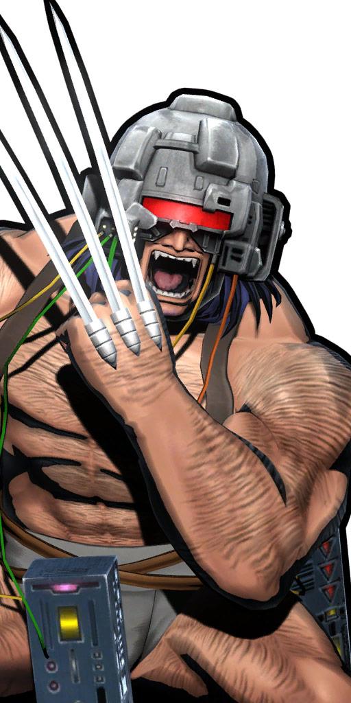 Ultimate Marvel vs. Capcom 3 character win poses in alternate costume #55