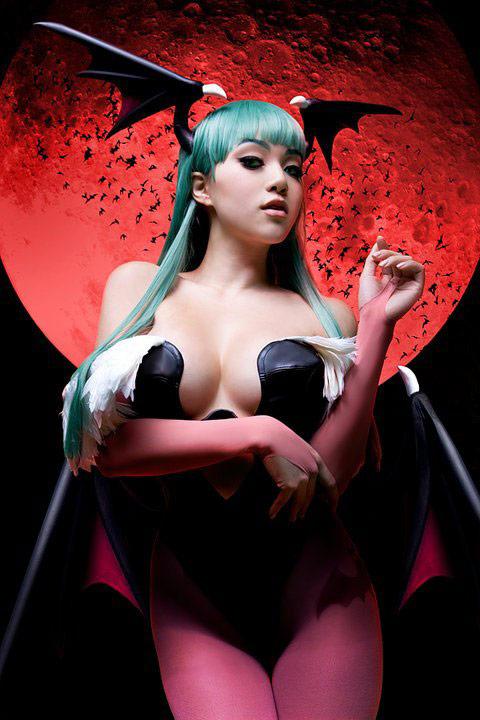 Vampy Bit Me cosplay #2
