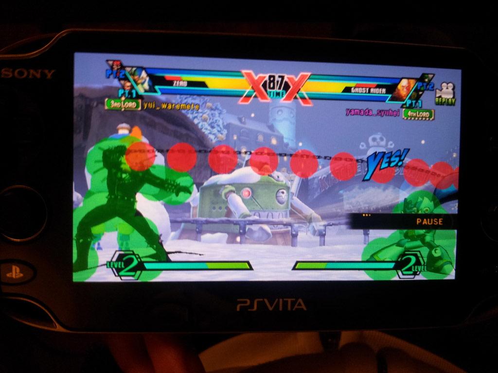 Ps Vita Ultimate Marvel Vs Capcom 3 Hit Boxes 03